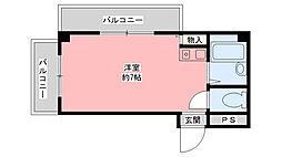 ビクトワール・シェル[3階]の間取り