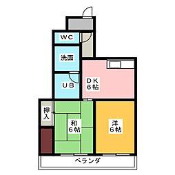 アイリスマンション[3階]の間取り