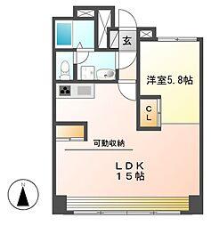 Manoir nakata(マノワールナカタ)[2階]の間取り