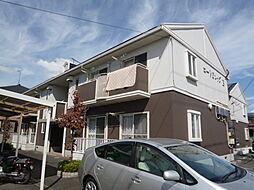 岡山県倉敷市連島1丁目の賃貸アパートの外観