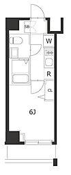 ラフィスタ川崎IV[6階]の間取り
