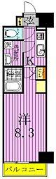 マキシヴ西新井[5階]の間取り