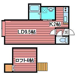 マイタウン[3階]の間取り
