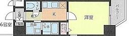 名鉄名古屋本線 金山駅 徒歩7分の賃貸マンション 4階1Kの間取り