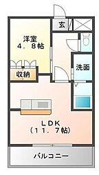 BIG STONE[1階]の間取り
