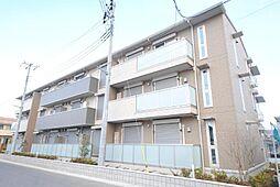 埼玉県越谷市レイクタウン6丁目の賃貸アパートの外観
