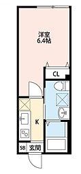 クレアシオン中板橋[302号室]の間取り