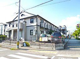 兵庫県西宮市河原町の賃貸アパートの外観