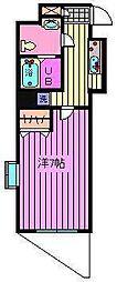 アルファコート西川口12[201号室]の間取り