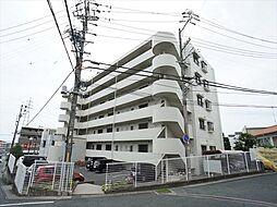 静岡県浜松市中区曳馬6の賃貸マンションの外観