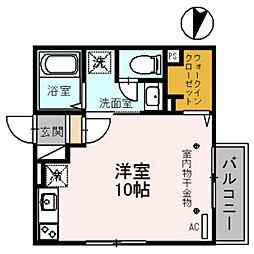 copain・court(コパンコート)[1階]の間取り