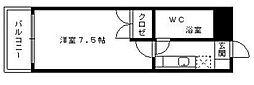スチューデント室見[3階]の間取り