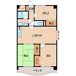 アヴァンセ21[1階]の間取り