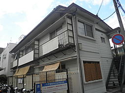 兵庫県芦屋市業平町の賃貸アパートの外観