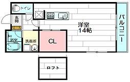 casa de viola[216号室]の間取り