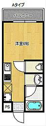 墨江728ハイツ[2階]の間取り