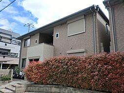 兵庫県尼崎市名神町2丁目の賃貸アパートの外観
