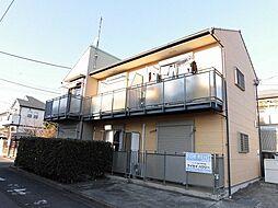 東京都昭島市緑町4丁目の賃貸アパートの外観
