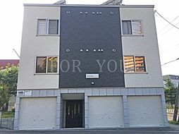 北海道札幌市手稲区手稲本町二条5丁目の賃貸アパートの外観
