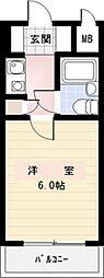 ライオンズマンション金沢八景第8[2階]の間取り
