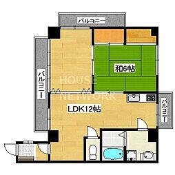 HOUSE 665[303号室号室]の間取り