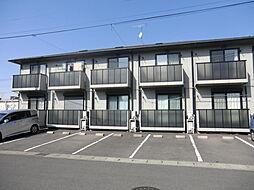 栃木県宇都宮市中今泉4丁目の賃貸アパートの外観