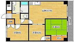 第3吉川ビル[104号室]の間取り