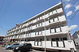 広島県福山市本庄町中1丁目の賃貸マンションの外観