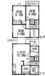 [一戸建] 大阪府八尾市柏村町4丁目 の賃貸【/】の間取り