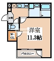フジパレス堺東雲III番館[1階]の間取り