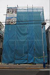 東京都大田区田園調布2丁目の賃貸アパートの外観