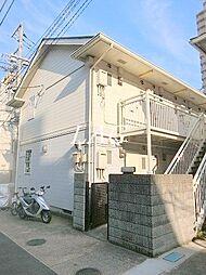 東京都江東区毛利1丁目の賃貸アパートの外観