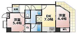 Kobe十一屋[1階]の間取り