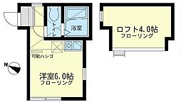 オーパス・ワンII[2階]の間取り