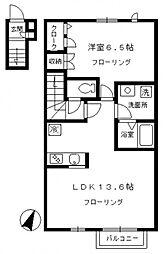 メゾン桜[2階]の間取り