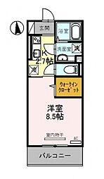 仮称)竹田向代町D-room[205号室号室]の間取り