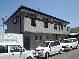 愛知県安城市篠目町1丁目の賃貸アパートの外観