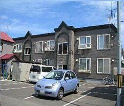 北海道札幌市北区新琴似六条2丁目の賃貸アパートの外観