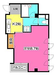 コーノビル[2階]の間取り
