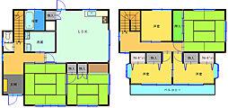 [一戸建] 和歌山県和歌山市西庄 の賃貸【和歌山県 / 和歌山市】の間取り