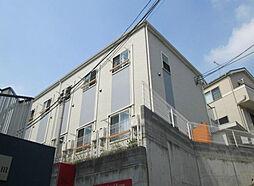 神奈川県川崎市多摩区西生田3の賃貸アパートの外観