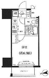 スパシエ八王子クレストタワー[404号室]の間取り