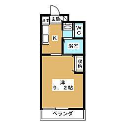 仮)深草小久保町マンション[4階]の間取り