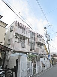 大阪府堺市中区東八田の賃貸マンションの外観