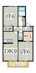 トレグラース B棟[1階]の間取り