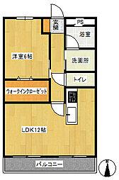 第一辻ビル[3階]の間取り