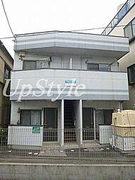東京都北区志茂1の賃貸マンションの外観