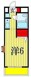ジョイフル津田沼III[3階]の間取り