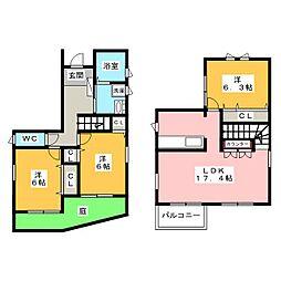 [一戸建] 愛知県名古屋市熱田区比々野町 の賃貸【/】の間取り