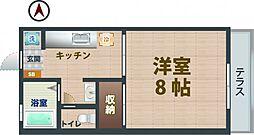 都立家政駅 6.9万円